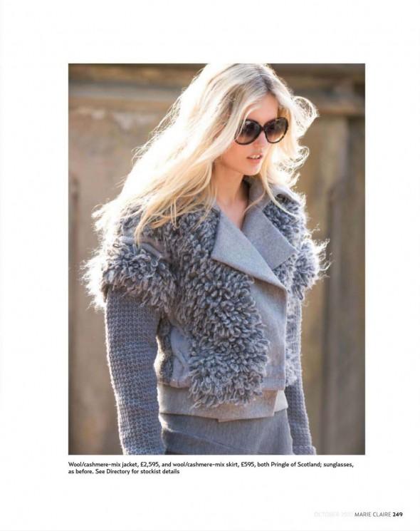 tendinte toamna 2010-jacheta gri cashmere si lana