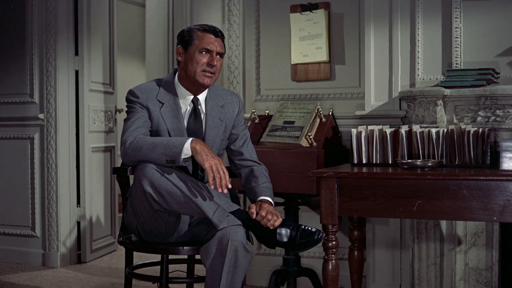 Cary Grant's grey suit in To catch a thief