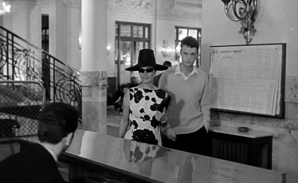 jeanne moreau style-la baie des anges 1963