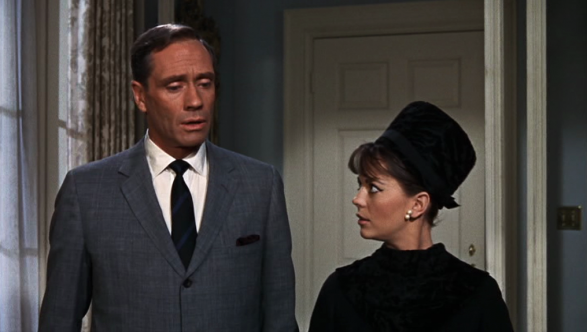 "Mel Ferrer och Natalie Wood i ""Sex And The Single Girl"""