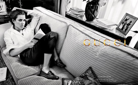 charlotte casiraghi-gucci forever now campaign- 2012