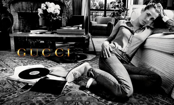 charlotte-casiraghi-gucci forever now FW12-campaign