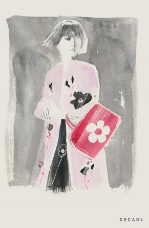 decade diaryillustration prada spring 2013