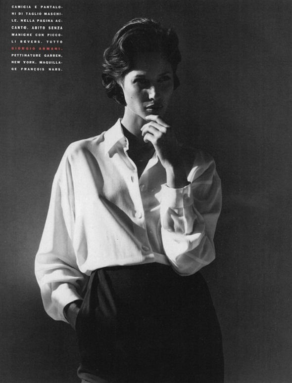 steven meisel vogue italia march 1991-christy turlington-1