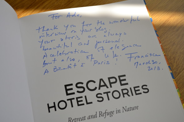 escape hotel stories retreat and refuge in nature- by francisca matteoli