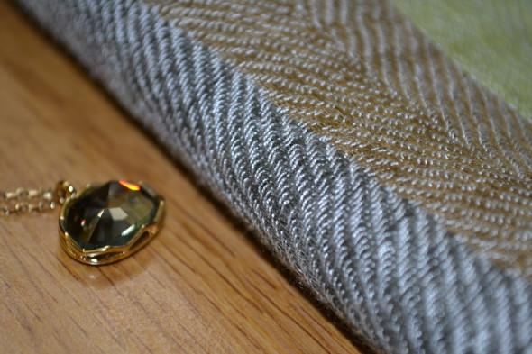 classiq-dkny scarf-swarovski necklace