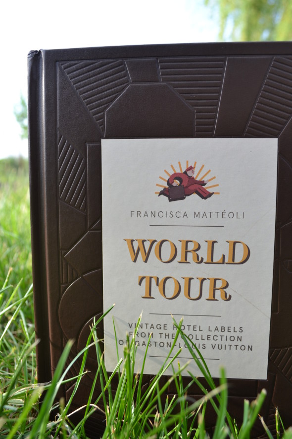 world tour by francisca matteoli-vintage hotel labels from the collection of gaston louis vuitton