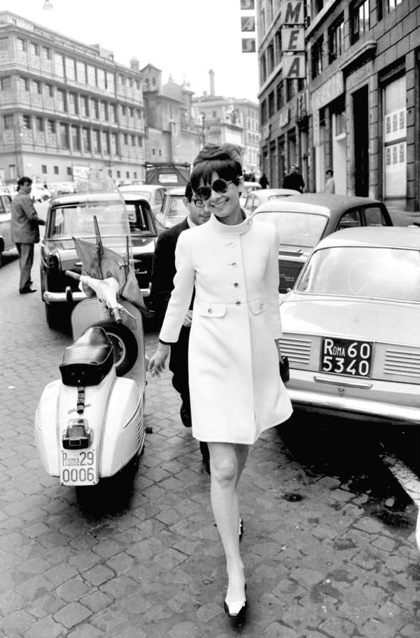 audrey hepburn rome 1968