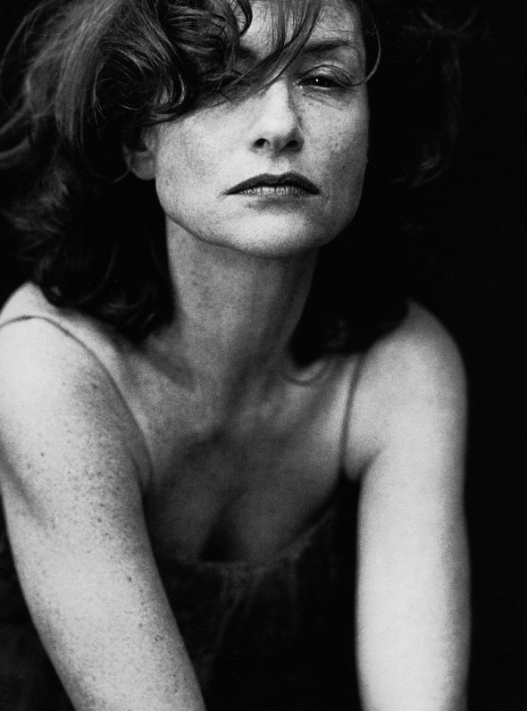 isabelle huppert by peter lindbergh