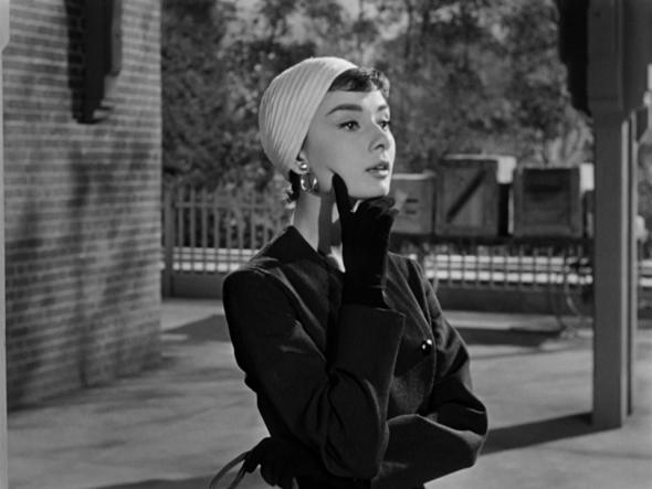Audrey Hepburn's style in Sabrina (3)