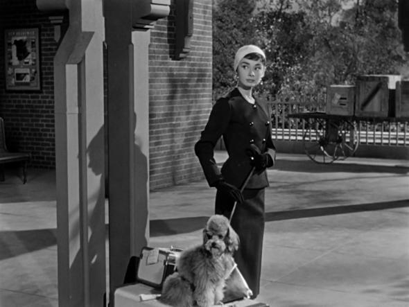 Audrey Hepburn's style in Sabrina (4)