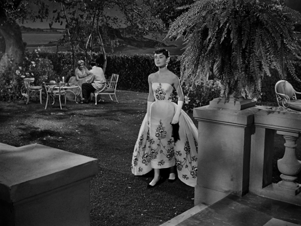 Audrey Hepburn's style in Sabrina (6)