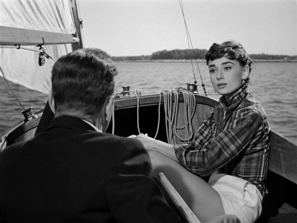 Audrey Hepburn's style in Sabrina (8)