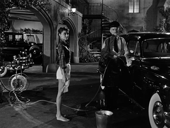 Audrey Hepburn's style in Sabrina (9)