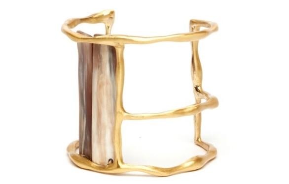 Edun Zanzibar Horn Cuff
