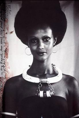 Iman by Peter Beard 1975 Kenya