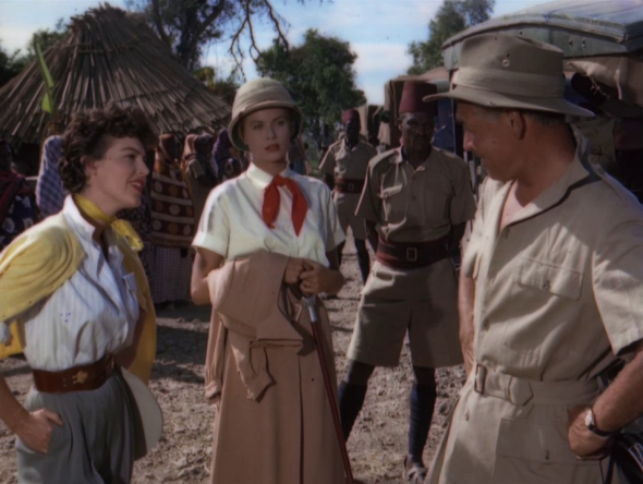 costumes in Mogambo