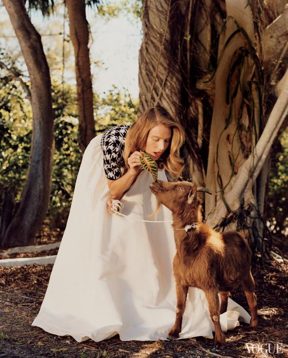 dree hemingway by bruce weber Vogue US june 2013-2