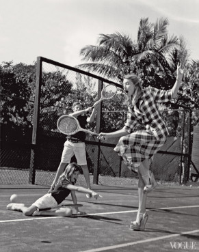 dree hemingway by bruce weber Vogue US june 2013