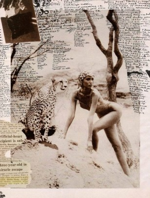 iman by peter beard 1964