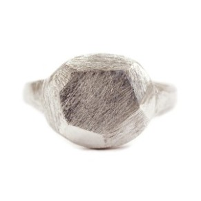 kerrie yeung round faceted ring