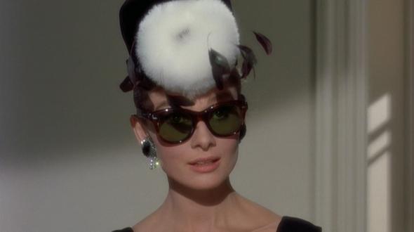 "668541c621ee Style in film  Audrey Hepburn in ""Breakfast at Tiffany s"""