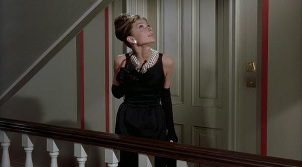 Audrey Hepburn's style in Breakfast at Tiffany's 2