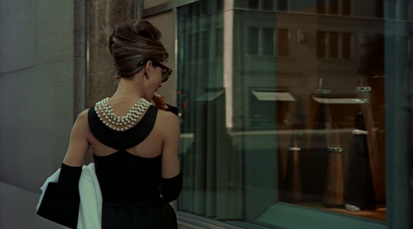 Audrey Hepburn's style in Breakfast at Tiffany's