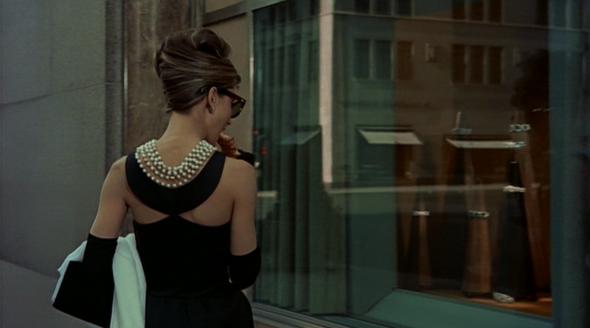 Audrey Hepburn's style in Breakfast at Tiffany's