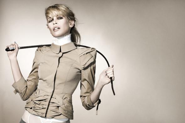 Claudia Schiffer by Kayt Jones for Vs magazine 2