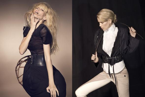 Claudia Schiffer by Kayt Jones for Vs magazine 4