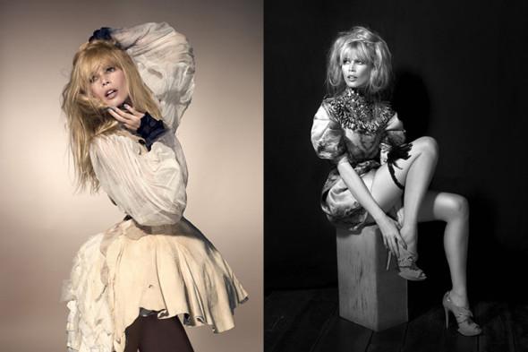 Claudia Schiffer by Kayt Jones for Vs magazine 5