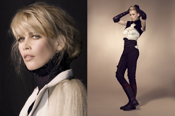 Claudia Schiffer by Kayt Jones for Vs magazine 6