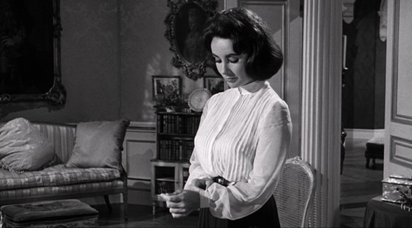 Elizabeth Taylor's style in Suddenly Last Summer