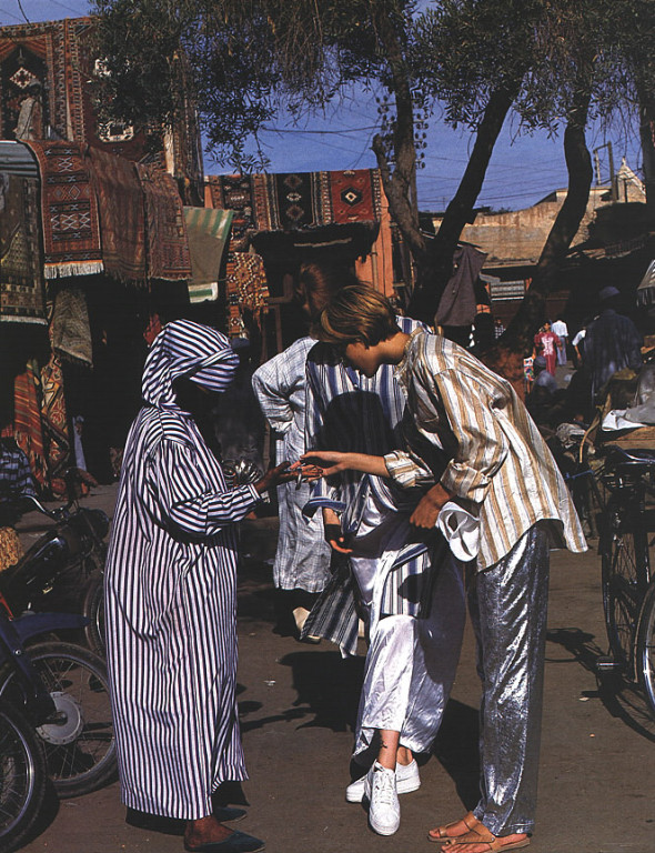 Elle US January 1994 Gilles Bensimon 1