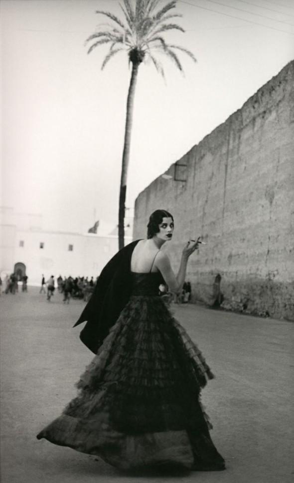 Kristen Mc Menamy by Peter Lindbergh Vogue Paris 1990