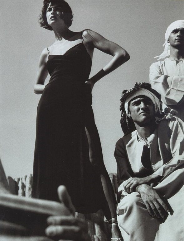 Linda Evangelista Vogue UK May 1997 Mario Testino-1