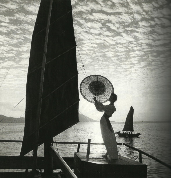 Ruth Newmann-Derujinsky by Gleb Derujinsky Harper's Bazaar 1958
