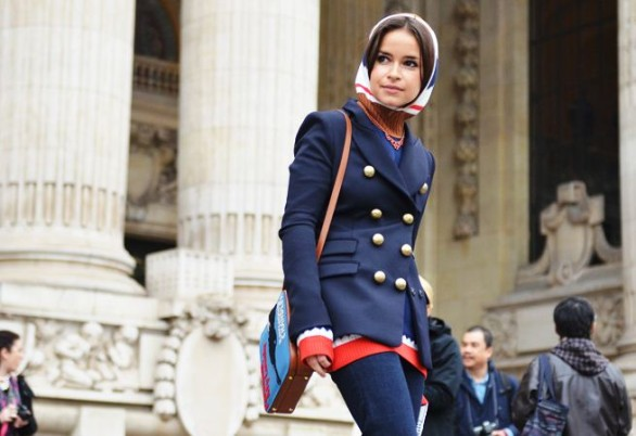 miroslava duma at couture week by tommy ton