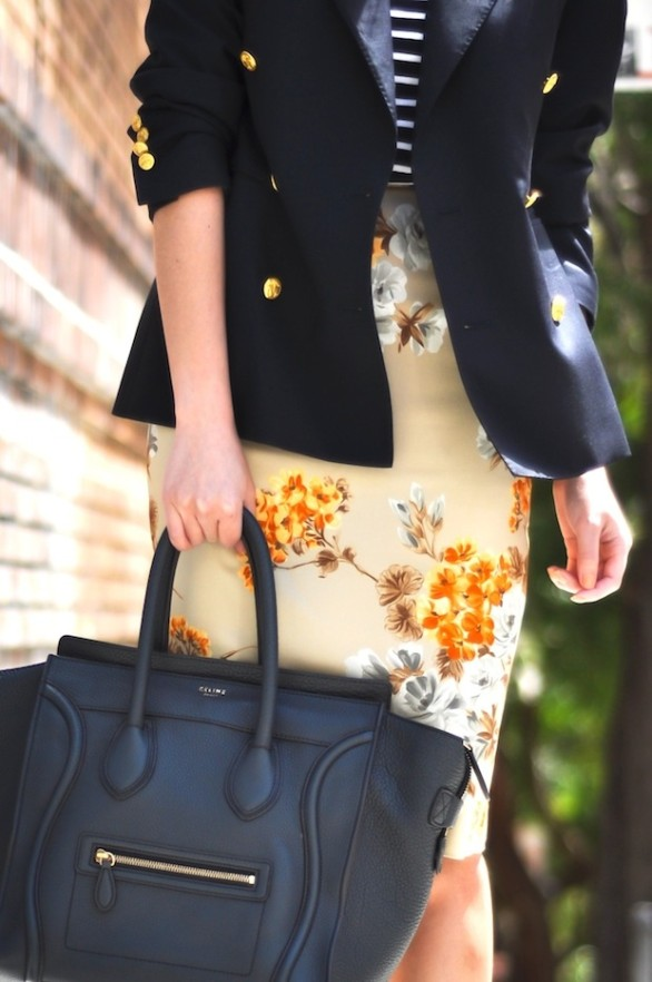 nautical and floral-9to5chic