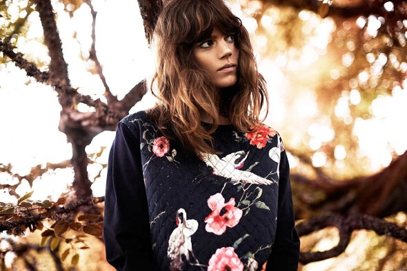 Freja Beha Erichsen for Reserved Fall 2013 -1
