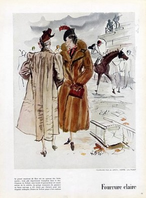 Hermes Couture 1937-rene-bouet-willaumez illustration