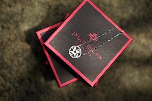 India Hicks Domino Necklace
