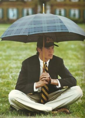 Johann Urb by Bruce Weber for Ralph Lauren campaign 1995