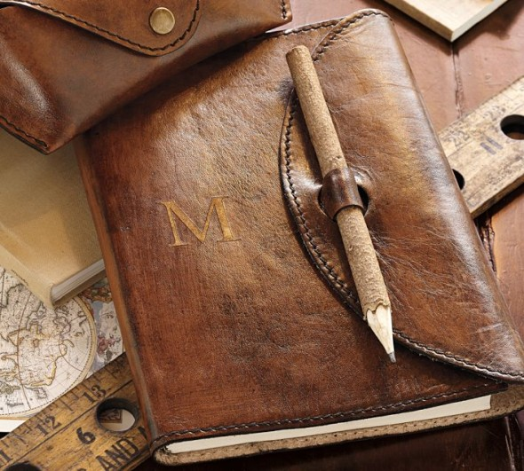 Pottery Bran Saddle Leather Journal