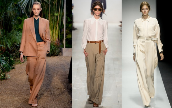 Spring Summer 2014-Trends I can work-wide legged pants