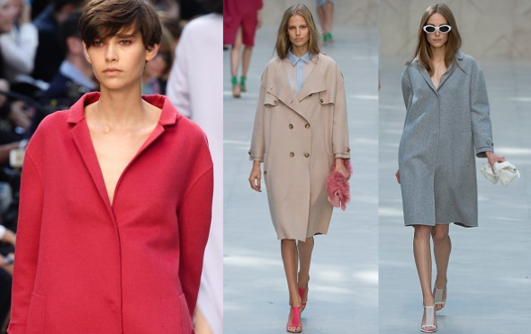 SpringSummer 2014-Trends I can work-Burberry loose-fit coats