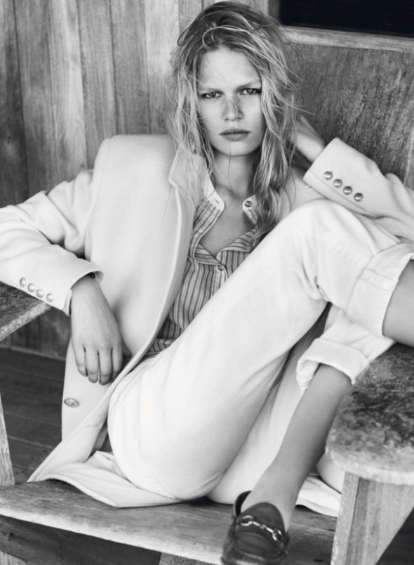 Anna Ewers By Josh Olins For Vogue Paris October 2013-1