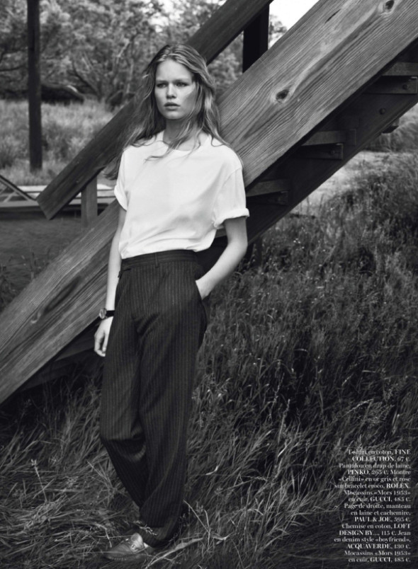 Anna Ewers By Josh Olins For Vogue Paris October 2013-3