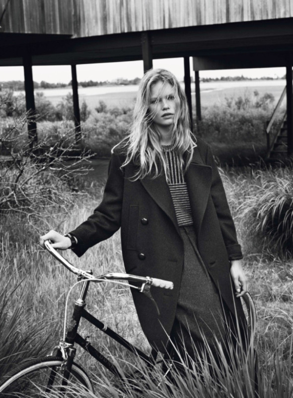Anna Ewers By Josh Olins For Vogue Paris October 2013-5